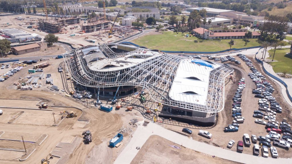 Cal Poly Pomona Student Services Building Nmn Construction